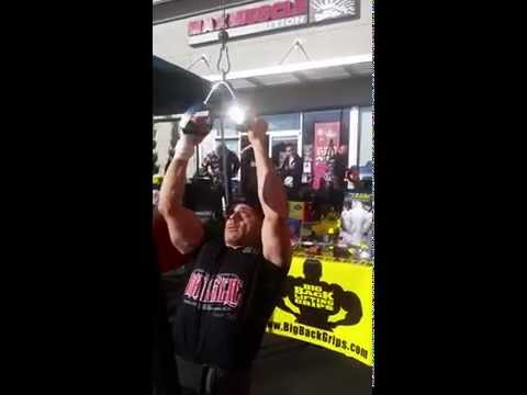 Ray Gallegos: 90 lbs for 52 reps