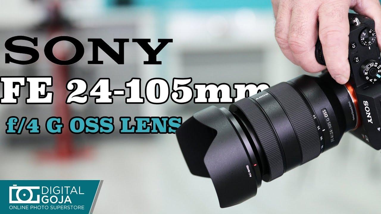 c80bc13a89 Sony FE 24-105mm f 4 G OSS Lens