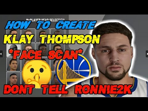 *RARE* HOW TO GET KLAY THOMPSON FACE SCAN IN NBA 2K20! VERY EASY! (MYPLAYER)