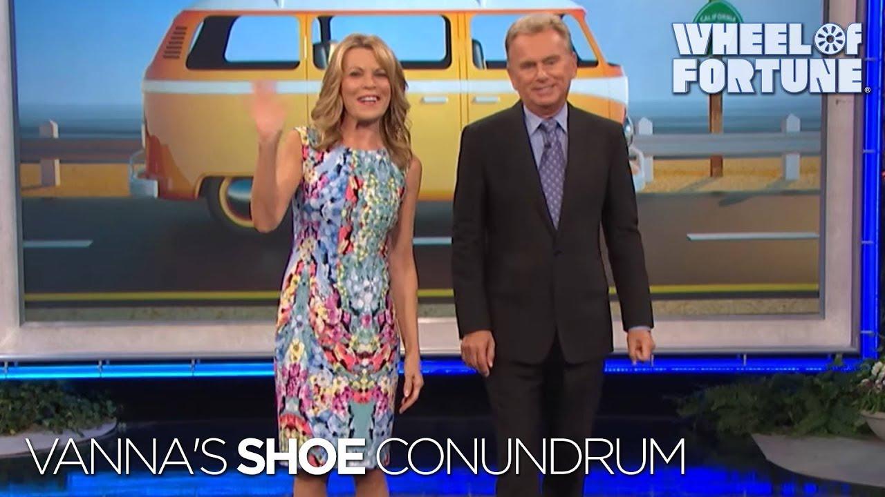 Vanna White Legs Feet Shoes