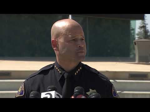 San Jose Police Department News Conference on Arrest