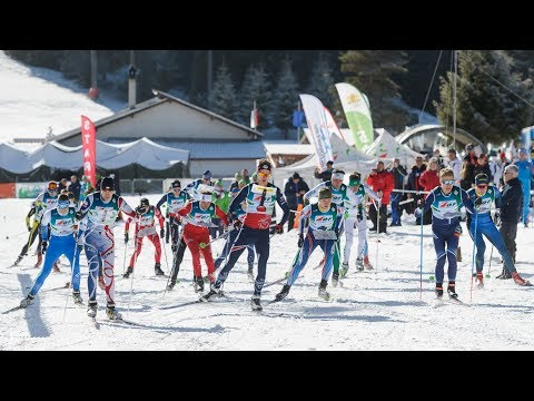 European Ski Orienteering Championships 2018. Sprint Relay
