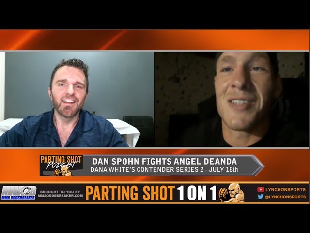 "DWTNCS 2's Dan Spohn talks Angel DeAnda, training w/ Stipe Miocic & ""The Walking Dead"""