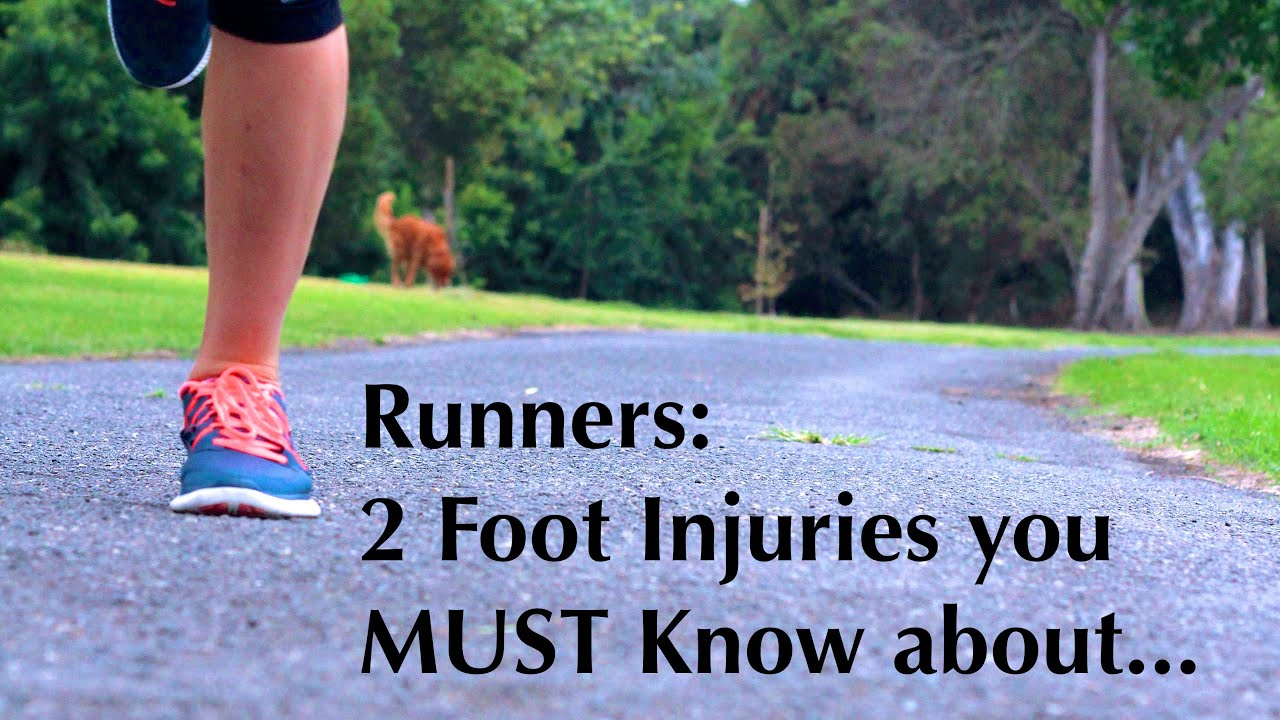 2 Common Foot Injuries you need to know about as a Runner - YouTube
