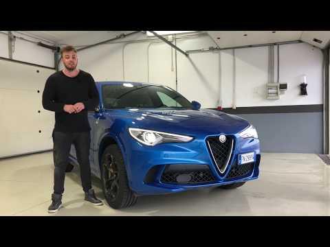 """2018 Alfa Romeo Stelvio Quadrifoglio Review   Fahrbericht auf dem """"Circuit Ascari""""   Test   Sound"""