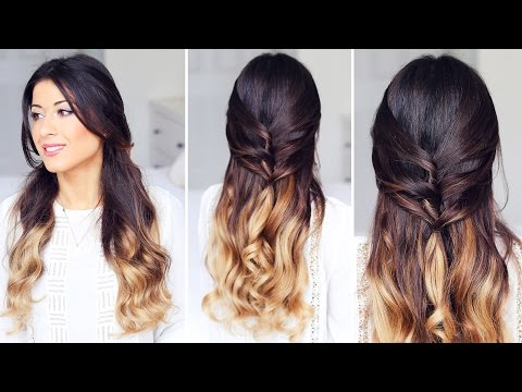 Cute Half-Up, Half-Down Hairstyle