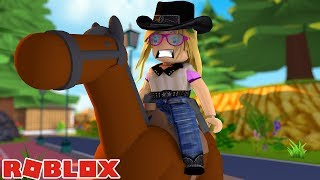 LITTLE KELLY IS AN OUTLAW !!!! Sharky Roblox