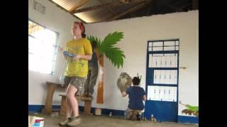 Tanzania Futurebuilding 2011  murals timelapse