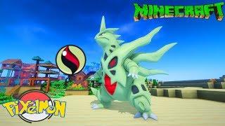 Minecraft Pixelmon+ Tập 19: Vô địch 2 Gym thế Giới và tiến hoá Mega Tyranitar