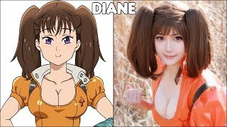 The Seven Deadly Sins Characters In Real Life #2