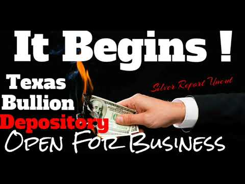 Texas Bullion Depository Opens! The Path To The Gold Standard and Fall of The Federal Reserve