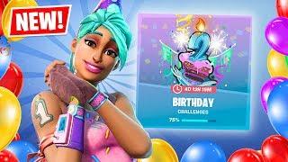 New RARE Birthday REWARDS! (Fortnite Battle Royale)