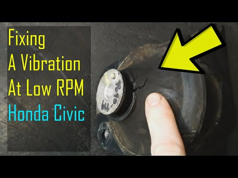 Shaking At Low RPM Honda Civic 8th Gen 2006-2011 Quick Fix Video