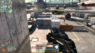 MW2 PC Gameplay - Trying out Fraps while playing