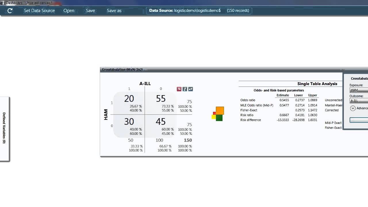 Epi info 7 2x2 table analysis youtube.