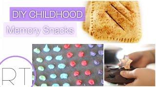 DIY Kids Treats (Pop Tarts, Dots, Gummy snacks)