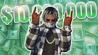 MILLIONAIRE RAPPER LUXURY LIFESTYLE! | GTA 5 Rapper