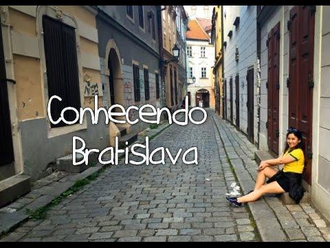 """Conheci a Bratislava, cenário do filme """"O Albergue""""."""