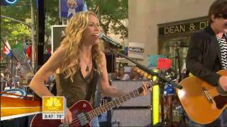 Soak Up The Sun HD - Sheryl Crow - Live on NBC Today Show HQ  720p