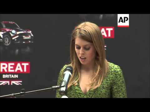 Princesses Beatrice and Eugenie visit Germany to promote UK