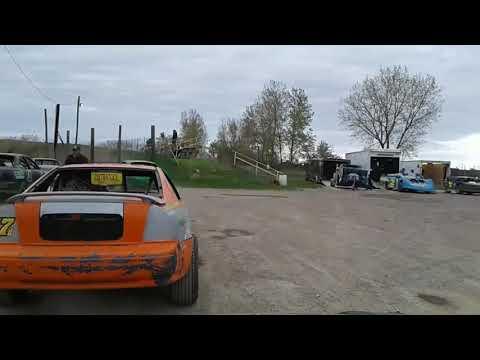 WISEGUY RACING Genesee speedway Heat 2 5-18-19