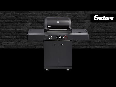 Enders Gasgrill Kansas 4 Sik Profi Turbo Test : Enders kansas black pro k turbo