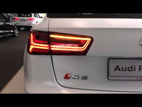 audi rs6 dynamischer blinker slowmotion light dynamic turn. Black Bedroom Furniture Sets. Home Design Ideas
