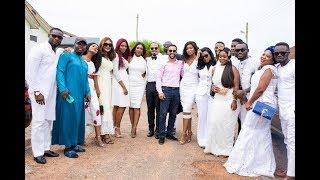 John Mahama, Actors, Actresses Flaunt Cars At John Dumelo's Traditional Wedding Part 2