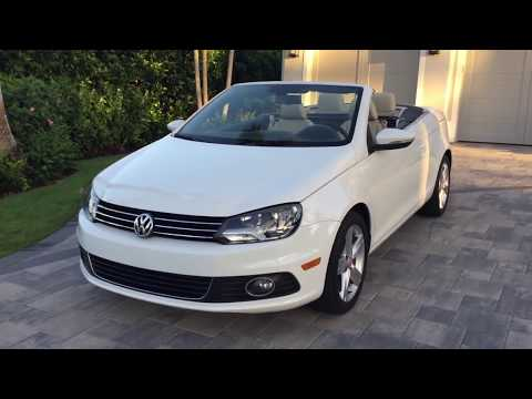 2012 Volkswagen Eos Lux Convertible Review and test Drive by Auto Europa Naples