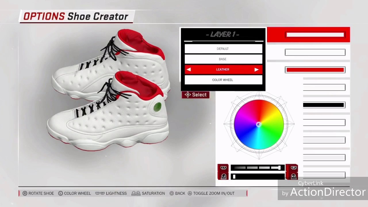 NBA 2K18: Air Jordan 13 History of Flight Tutorial (Shoe Creator)