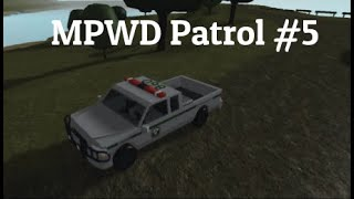 [5] MPWD Patrol | I got attacked!!! (Epic Shootout) | New Haven County | Roblox