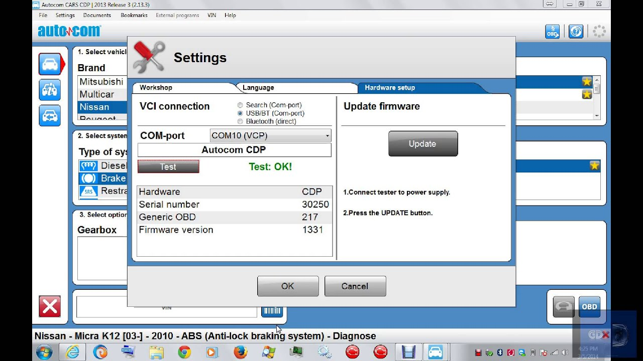 Autocom 2013 3 cdp update works on old autocom vci with bluetooth a4 youtube