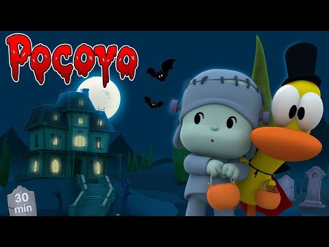 🎃POCOYO in ENGLISH🕷: Halloween Marathon [30 min] | Full Episodes | VIDEOS and CARTOONS for KIDS