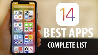 Best iOS 14 Apps - Complete List