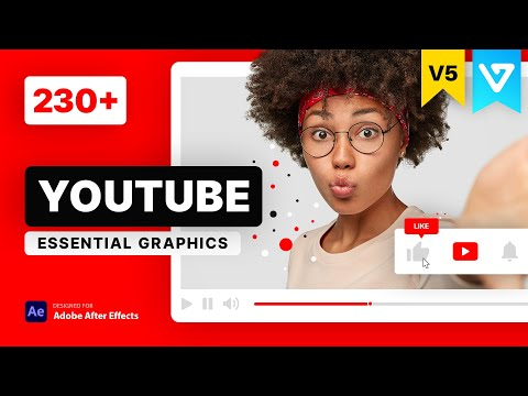 [ Template ] YouTube Essential Project V4 | After Effects