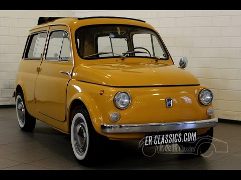 autobianchi giardiniera fiat 500 1972 in very good condition video youtube. Black Bedroom Furniture Sets. Home Design Ideas