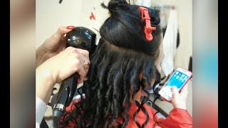 ЛОКОНЫ на длинные волосы Сделать завивку в Броварах Виктория Феденко салон красоты LaFamilia salon
