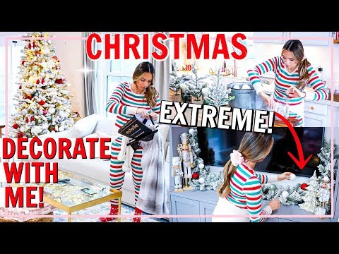 ULTIMATE DECORATE FOR CHRISTMAS WITH ME! CHRISTMAS DECOR IDEAS 2019 | Alexandra Beuter