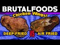 Chicken Wings - Air Fried vs Deep Fried!