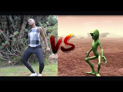 KENYAN GIRL VS ALIEN  Dame Tu Cosita dance challenge 2018