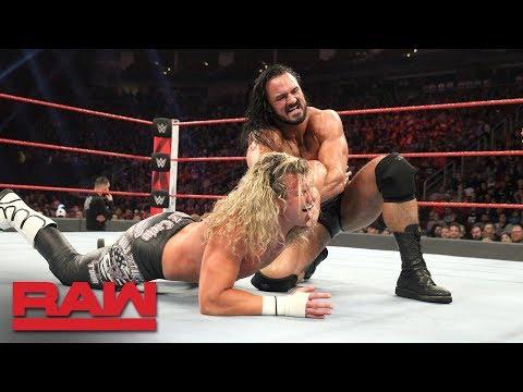 Dolph Ziggler vs. Drew McIntyre: Raw, Dec. 3, 2018