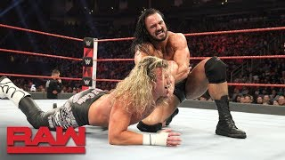 Dolph Ziggler vs. Drew McIntyre: Raw, Dec. 3, 2018