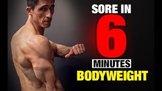 Bodyweight Triceps Workout (SORE IN 6 MINUTES!)
