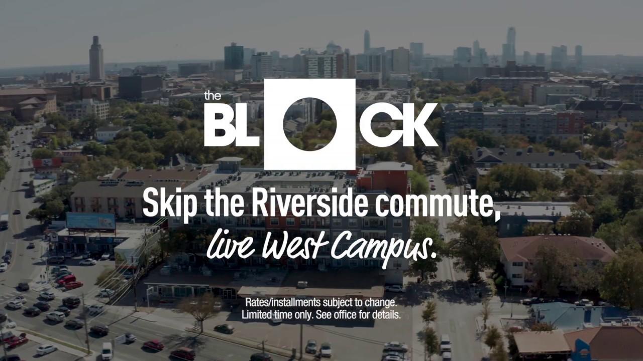 The Block West Campus - Apartments Near UT Austin ...