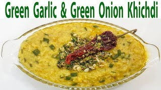 Khichdi Masala khichdi Hara Pyaz Hara Lehsun Dal Khichdi Tadka Easy & Tasty