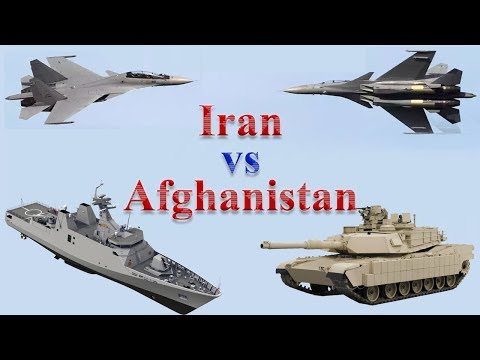 Iran vs Afghanistan Military Comparison 2017