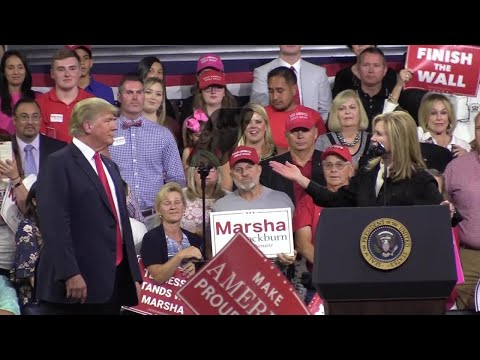 Trump in TN: A vote for Marsha Blackburn is a vote for me