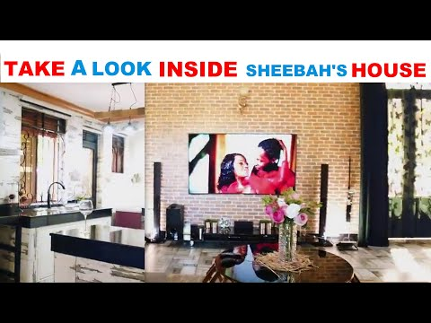 SHEEBAH TAKES US AROUND HER CLASSY HOUSE