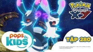 Pokémon Tập 280 -  Thi Đấu Cặp Tại Nhà Thi Đấu Hiyakoku!! - Hoạt Hình Pokémon Tiếng Việt  S18 XY