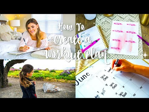 How To Create Your Perfect Workout Routine + Stick To It!